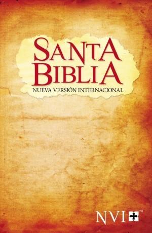 Biblia evangelística. Rústica. Pergamino - NVI