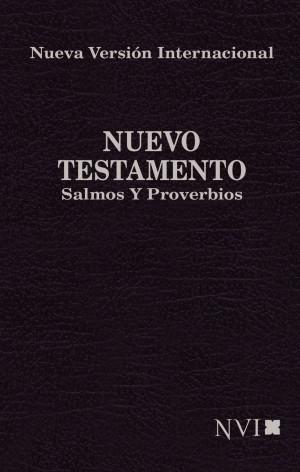 Nuevo Testamento con Salmos y Proverbios. Bolsillo. Rústica. Negro - NVI