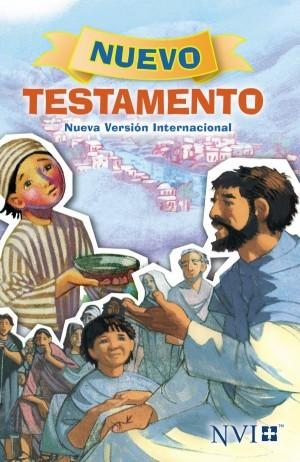 Nuevo Testamento para niños. Rústica - NVI