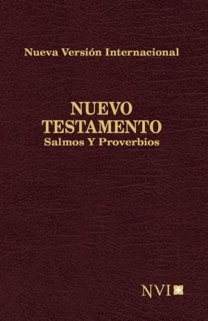 Nuevo Testamento con Salmos y Proverbios. Bolsillo. Rústica. Rojo - NVI