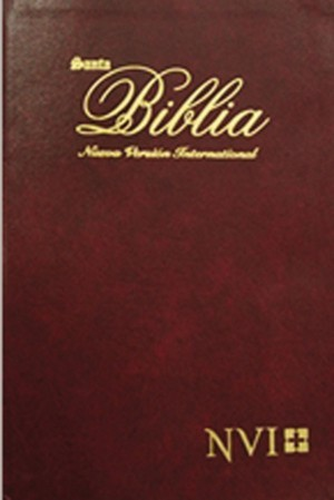 Biblia ultrafina para regalo. Imitación piel. Rojo - NVI