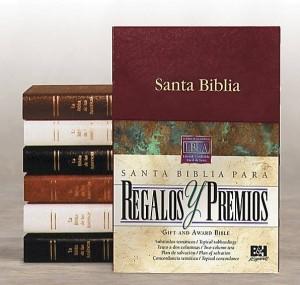LBLA Biblia para Regalos y Premios, negro imitación piel