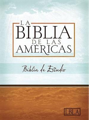 LBLA Biblia de Estudio, tapa dura con índice