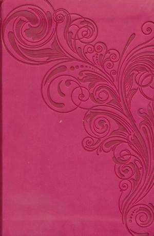 Biblia compacta. Ultrafina. 2 tonos. Rosa - NKJV (inglés)