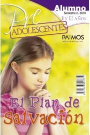 Preadolescentes (11-12 años). Alumno. Semestre 2 - 2019