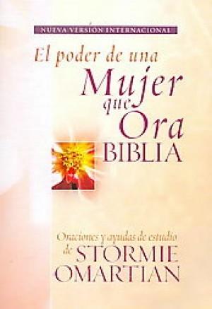 Biblia el poder de una mujer que ora. Rústica - NVI