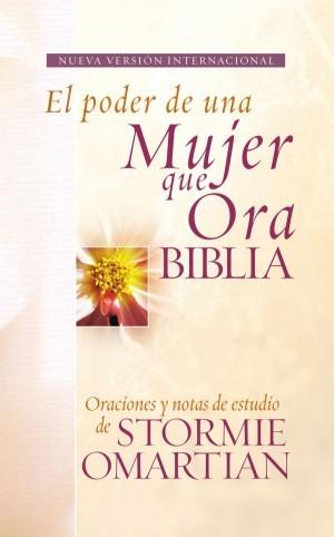 Biblia el poder de una mujer que ora. Piel especial. Rosa - NVI