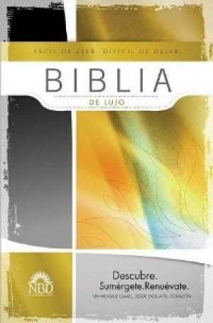 Biblia de lujo. Piel especial. Negro - NBD