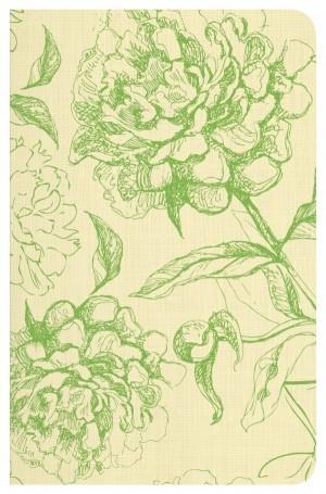 Biblia clásica. Edición especial. Rústica. Verde Floral - RVR77