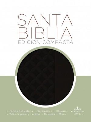 Biblia compacta. 2 tonos. Negro - RVR60