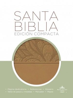 Biblia compacta. 2 tonos. Marrón - RVR60