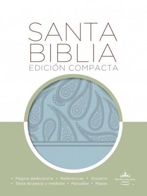 Biblia compacta. 2 tonos. Azul - RVR60