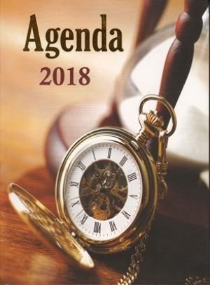 Agenda perlas de sabiduría 2018. Reloj