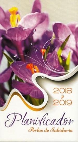 Planificador perlas de sabiduría 2018 y 2019. Flor