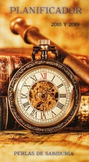 Planificador perlas de sabiduría 2018 y 2019. Reloj
