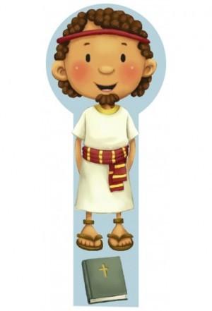 Marcador en 3D para niños José (bilingüe)