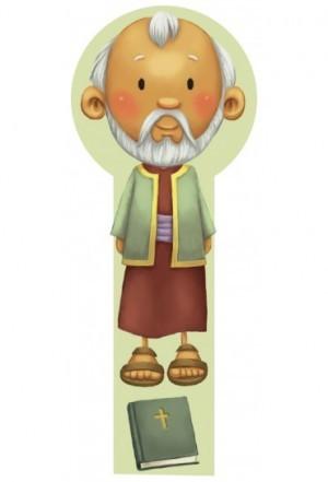 Marcador en 3D para niños Moisés (bilingüe)