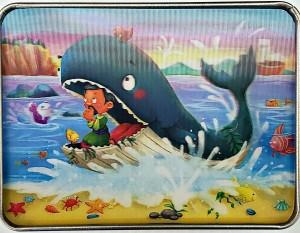 Rompecabezas en 3D Jonás y el pez