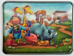 Rompecabezas en 3D Noé y los animales