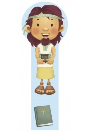 Marcador en 3D para niños Sansón (bilingüe)