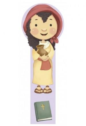 Marcador en 3D para niños Marta (bilingüe)