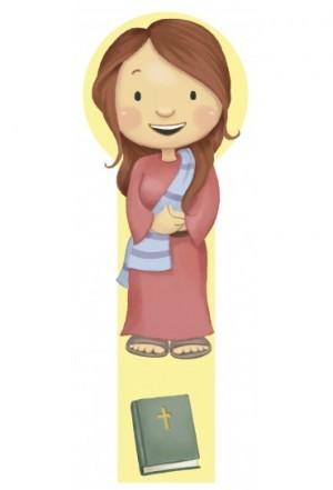 Marcador en 3D para niños Tabita (bilingüe)