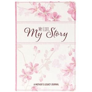 Diario My  Life, My Story. 2 tonos. Blanco floral (inglés)