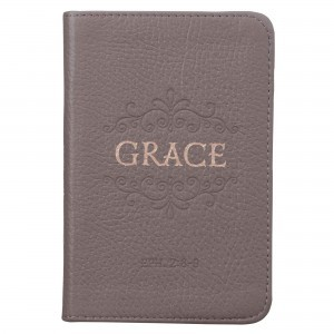 Diario Grace. Piel genuina. Gris