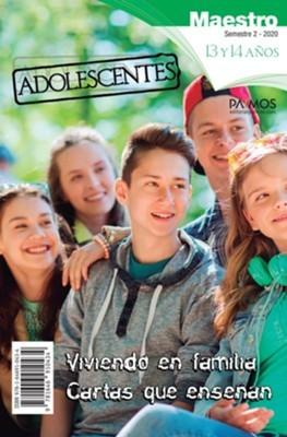 Adolescentes (13-14 años). Maestro. Semestre 2 - 2020