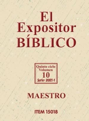 Expositor bíblico. Maestro