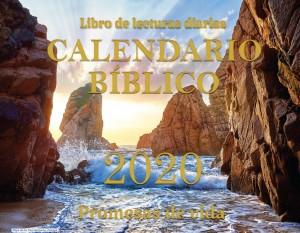Calendario bíblico Promesas de vida 2020