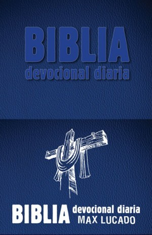 Biblia devocional diaria. 2 tonos. Azul - RVR60