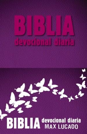 Biblia devocional diaria. 2 tonos. Rosa - RVR60