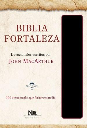 Biblia Fortaleza. Imitación piel. Negro - RVR60