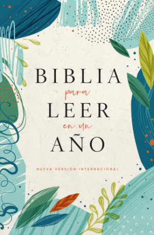 Biblia para leer en un año. Rústica. Naturaleza 2 - NVI