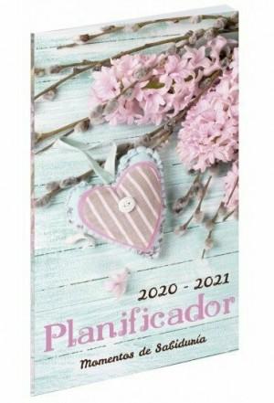 Planificador momentos de sabiduría 2020-2021. Rústica/funda plástico. Corazón