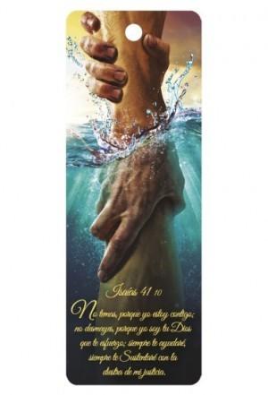 Marcador en 3D unisex Isaiías 41:10 (bilingüe)