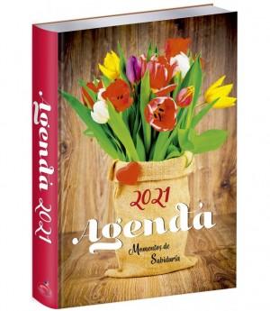Agenda 2021, Vinilo. Tulipanes