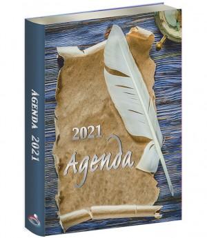 Agenda 2021. Vinilo. Pergamino