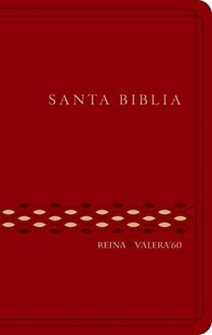 Biblia RVR062c. Plástico. Rojo - RVR60