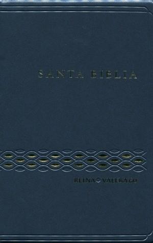 Biblia RVR062c. Plástico. Azul - RVR60