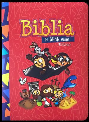 Biblia Mi gran viaje. 2 tonos. Rojo. Cremallera - RVR60
