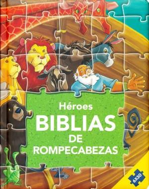 Biblias de rompecabezas - Héroes