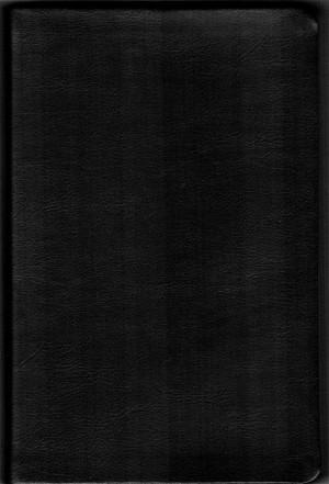 Biblia manual. Letra grande. Piel genuína. Negro - RVR60