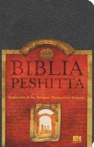 Biblia Peshitta. Imitación piel. Negro. Índice - Trad. Arameo
