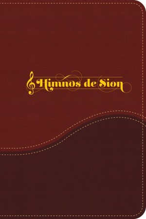 Himnario de Sión. 2 tonos. Morado/rojo