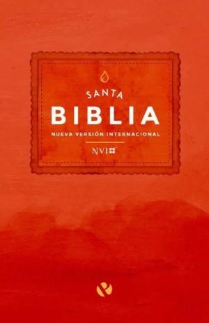 Biblia económica. Rústica. Rojo - NVI
