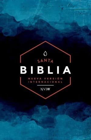 Biblia económica. Rústica. Azul - NVI