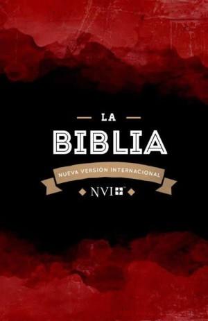 Biblia económica. Rústica. Granate - NVI