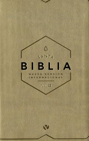 Biblia manual. 2 tonos. Marrón - NVI